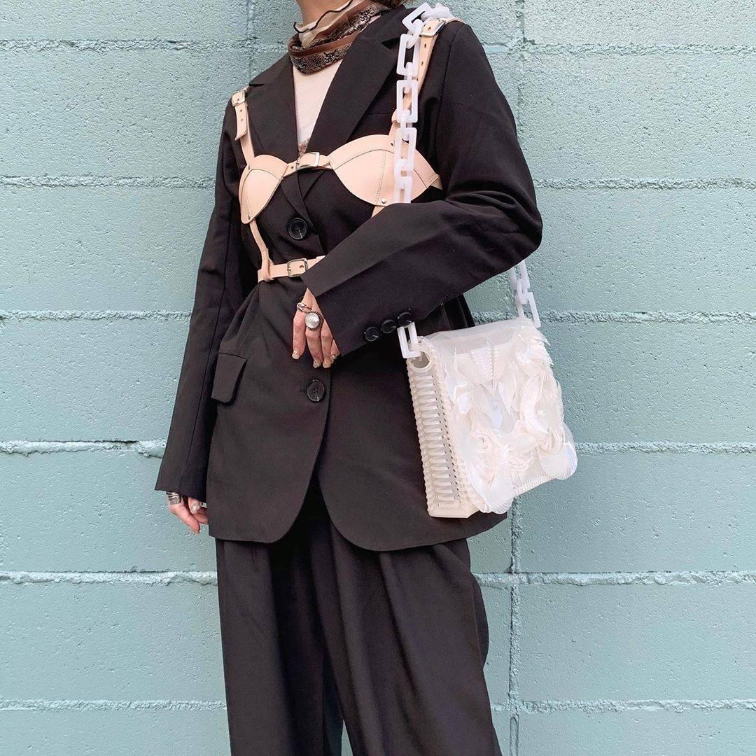 最高気温11度・最低気温3度 rira_yukariの服装