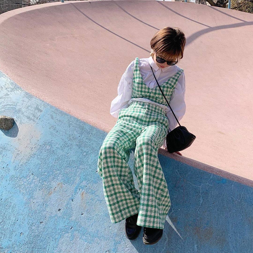 最高気温11度・最低気温5度 rira_yukariの服装