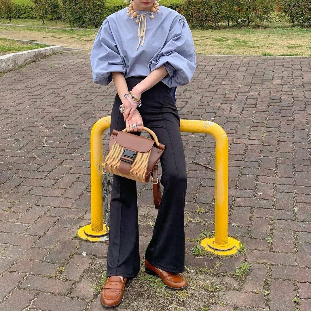 最高気温10度・最低気温3度 rira_yukariの服装