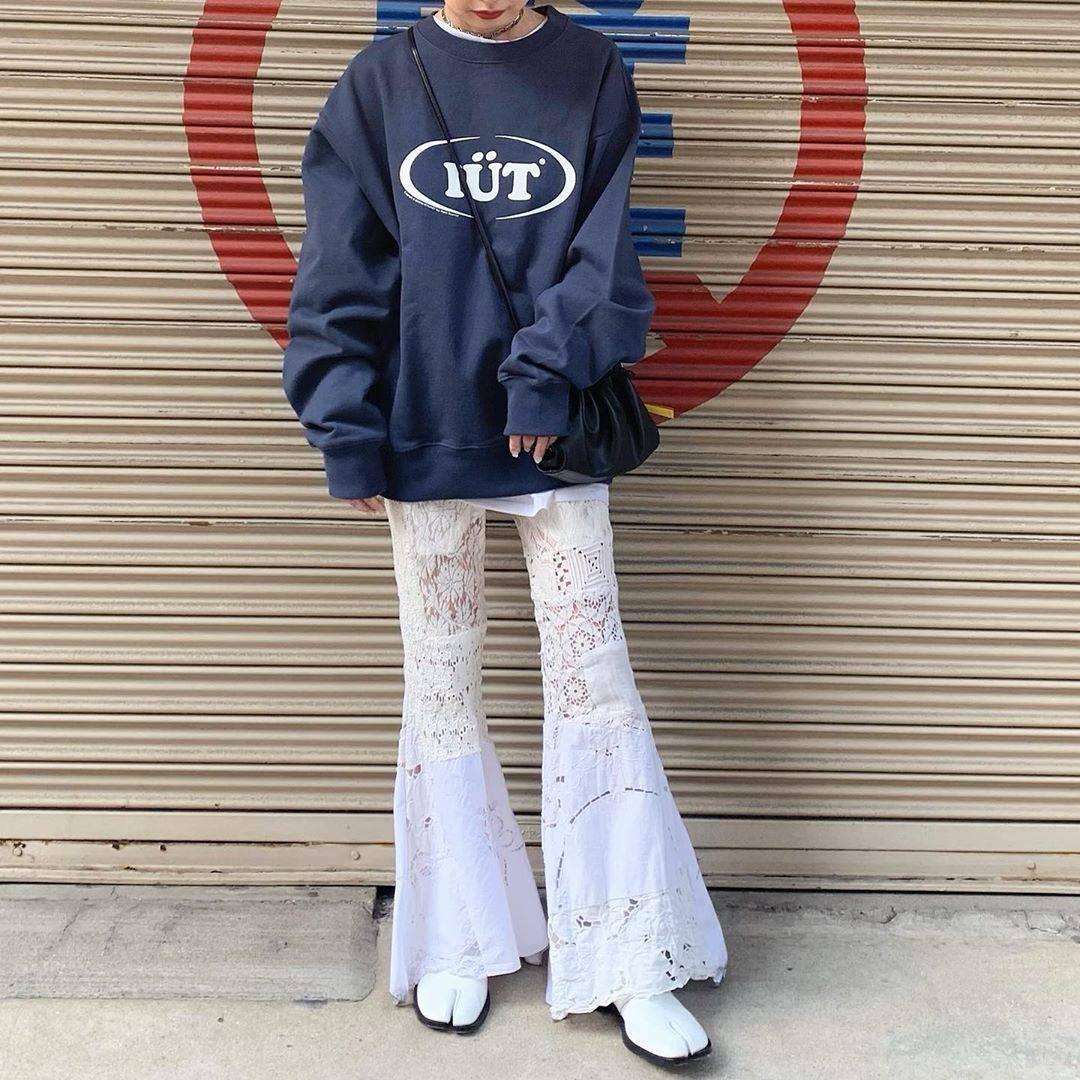 最高気温20度・最低気温8度 rira_yukariの服装