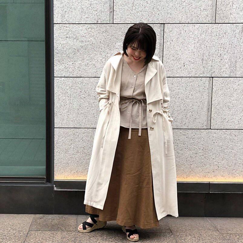 最高気温11度・最低気温7度 sumire__apの服装