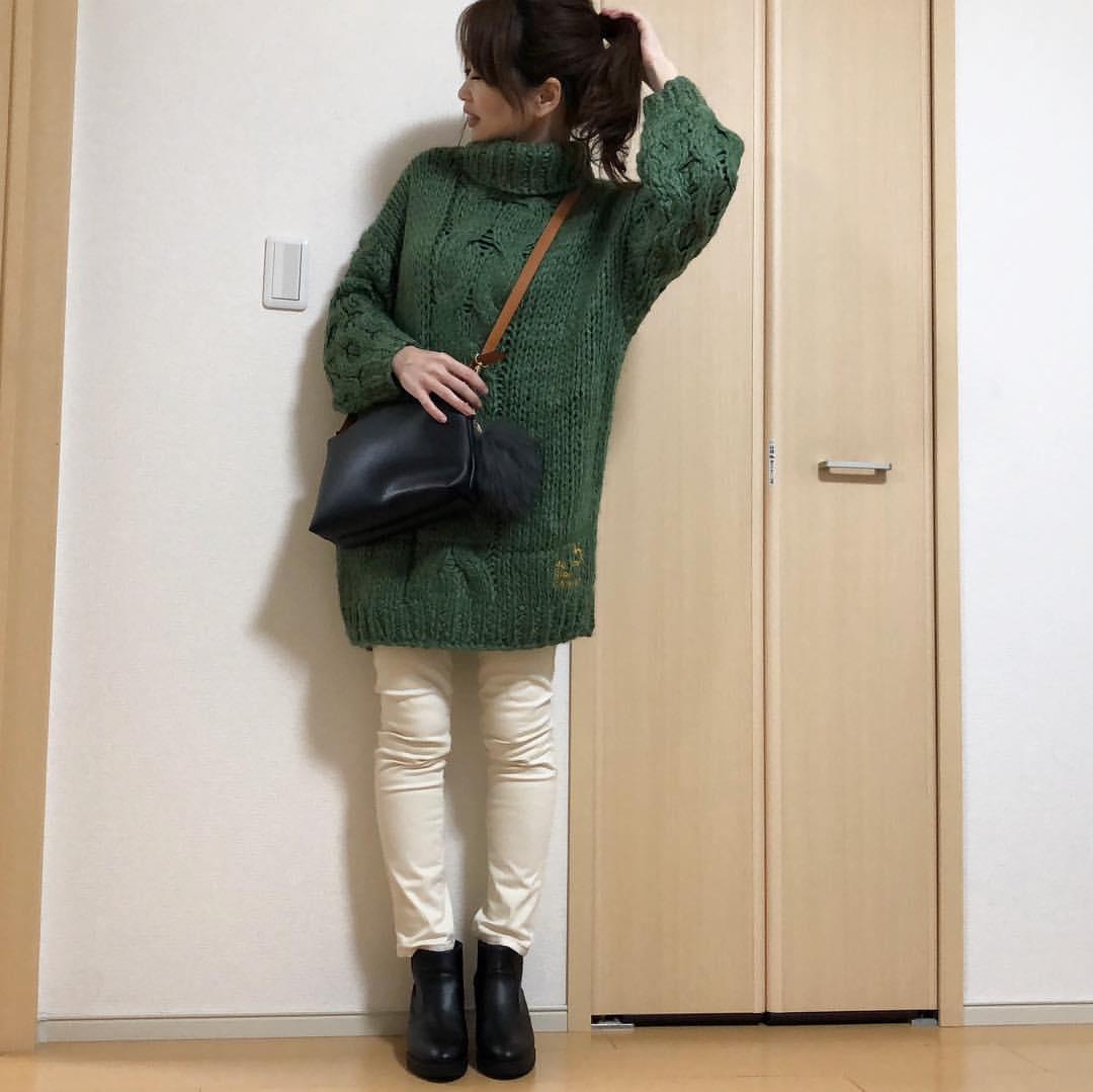 最高気温14度・最低気温0度 takanogunsou0805の服装
