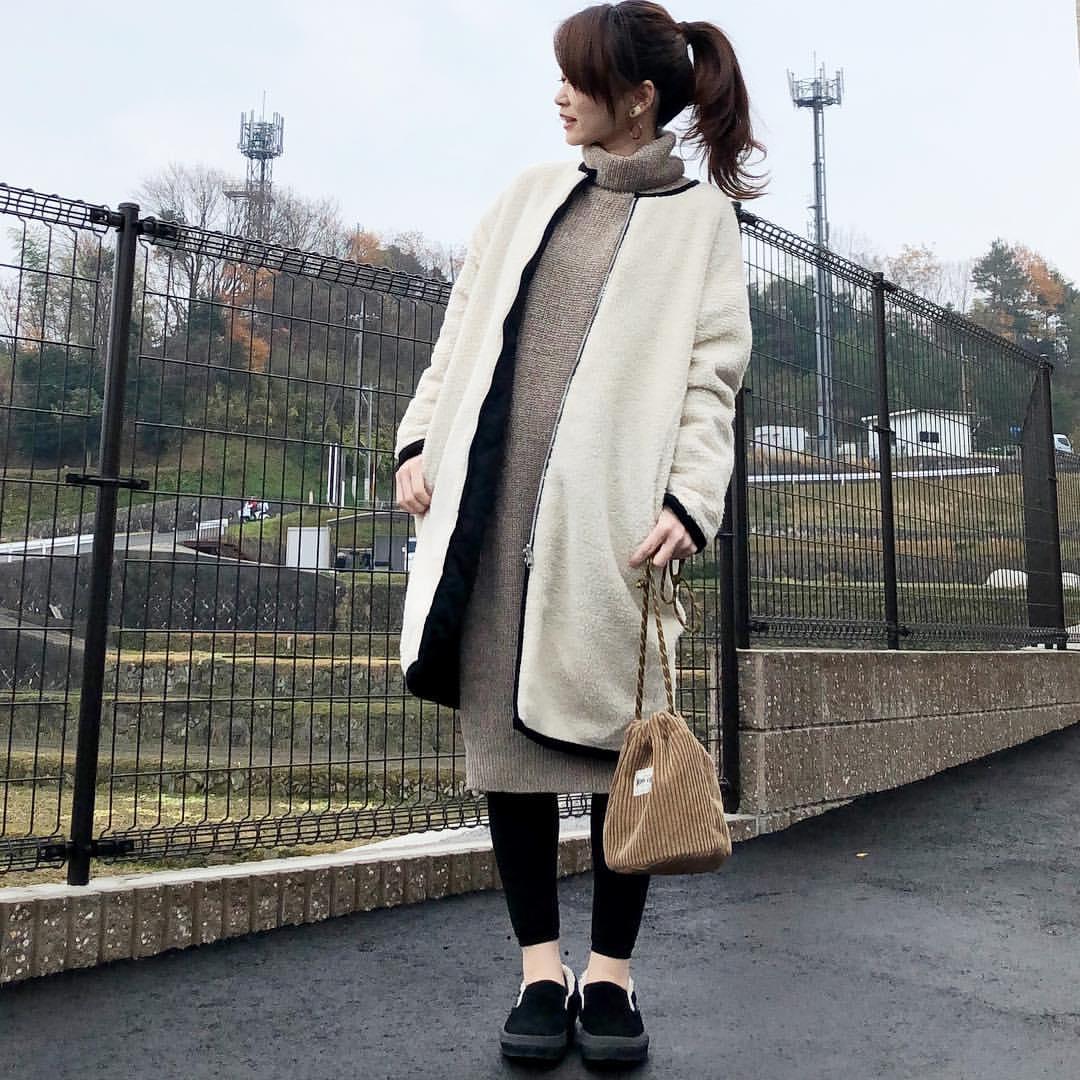 最高気温5度・最低気温-1度 takanogunsou0805の服装