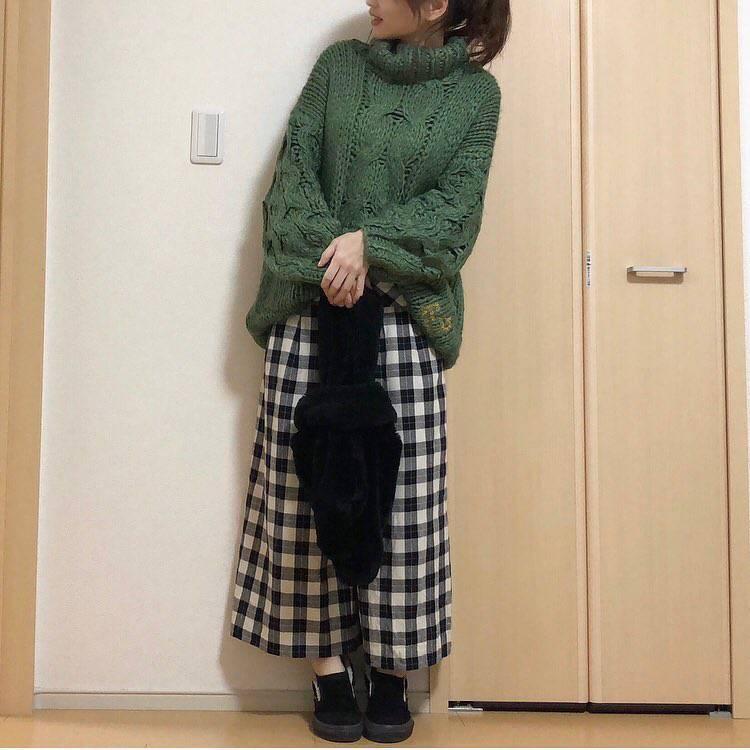 最高気温13度・最低気温0度 takanogunsou0805の服装