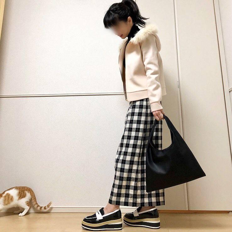 最高気温12度・最低気温0度 takanogunsou0805の服装