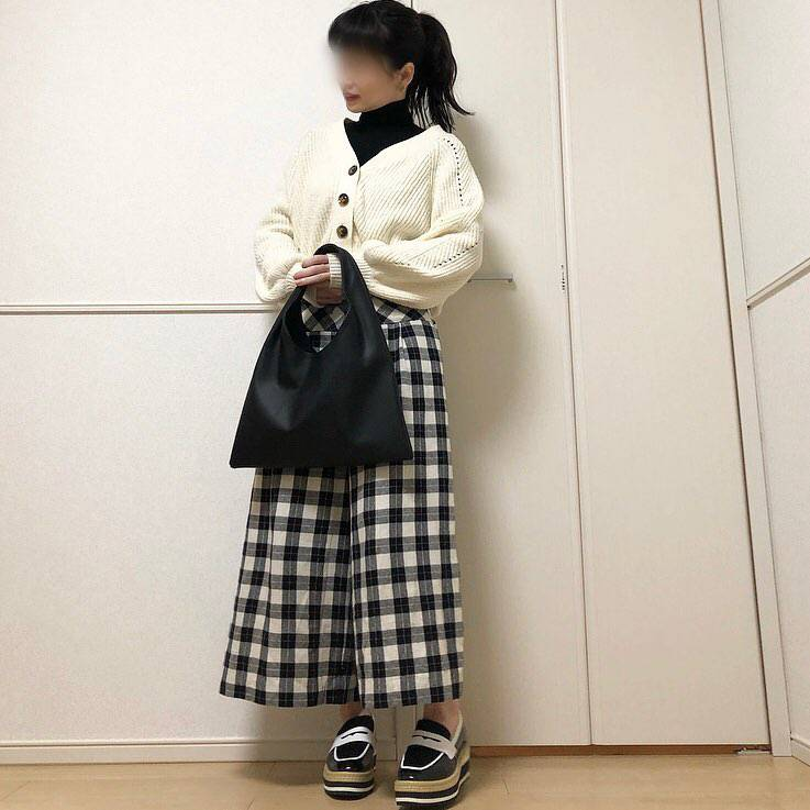 最高気温19度・最低気温6度 takanogunsou0805の服装