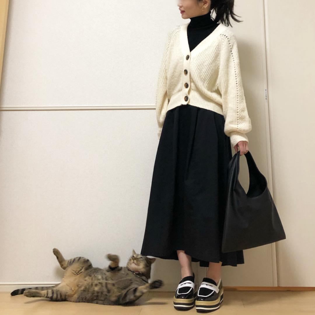 最高気温12度・最低気温6度 takanogunsou0805の服装