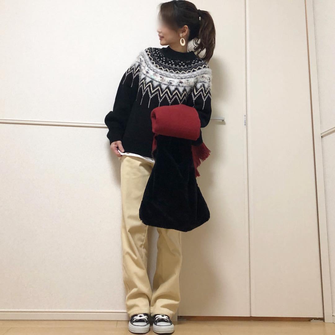 最高気温13度・最低気温4度 takanogunsou0805の服装