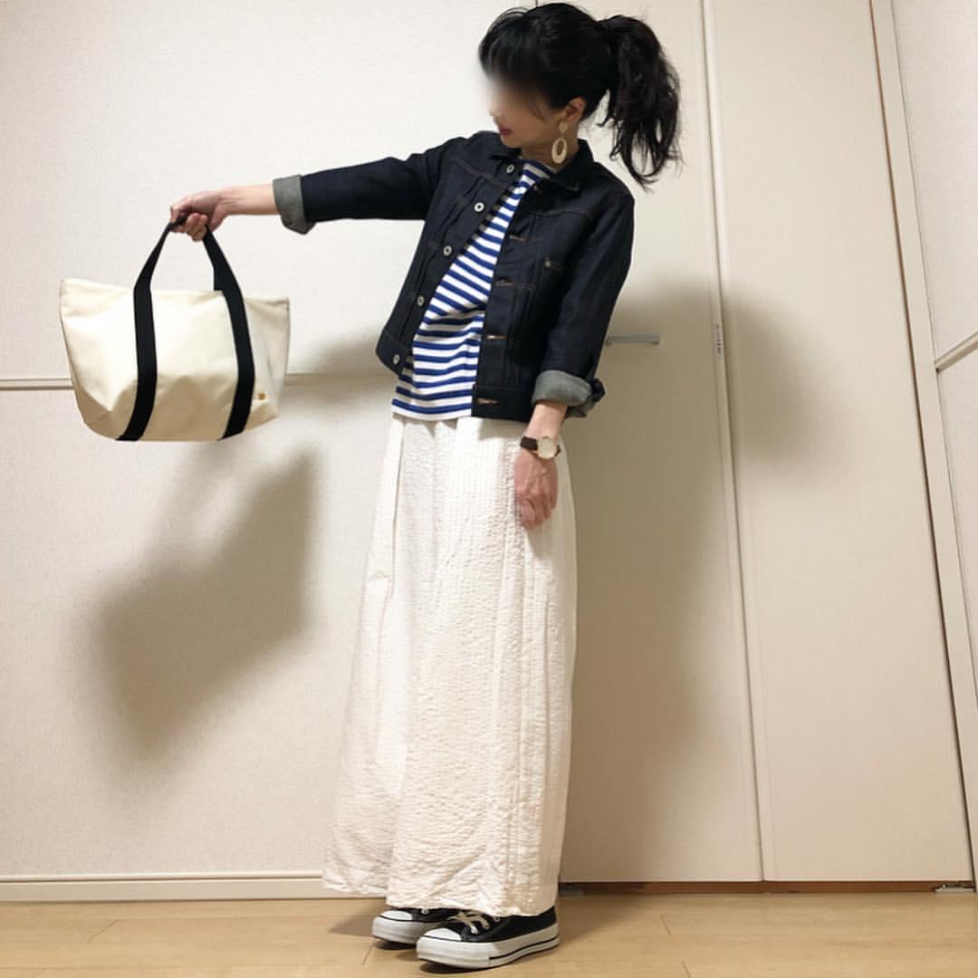 最高気温12度・最低気温7度 takanogunsou0805の服装