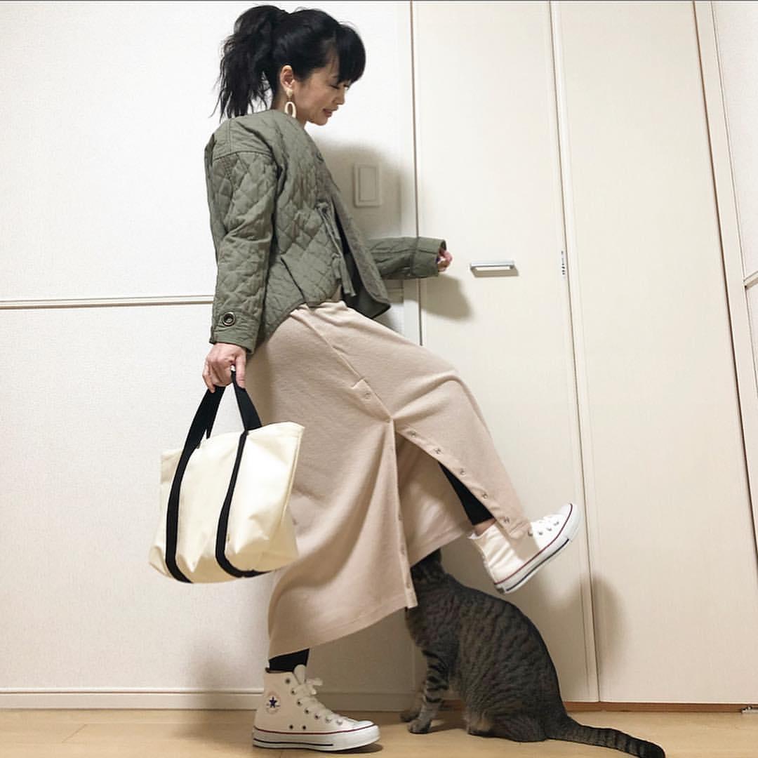最高気温10度・最低気温4度 takanogunsou0805の服装