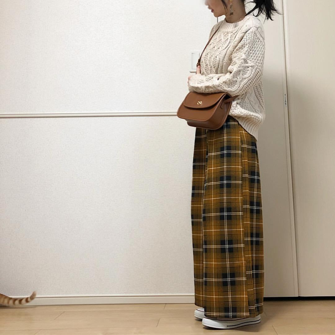 最高気温14度・最低気温8度 takanogunsou0805の服装