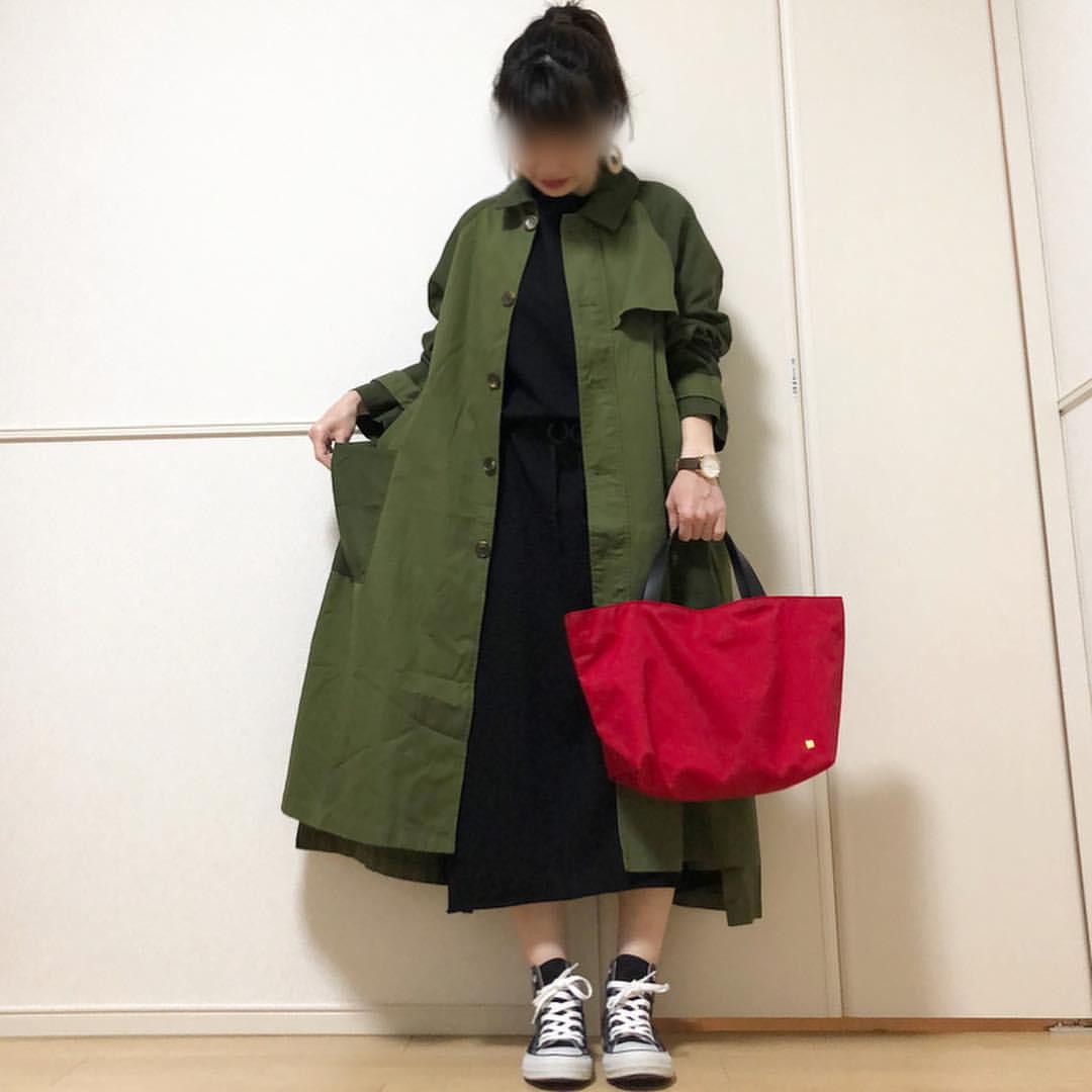 最高気温17度・最低気温8度 takanogunsou0805の服装