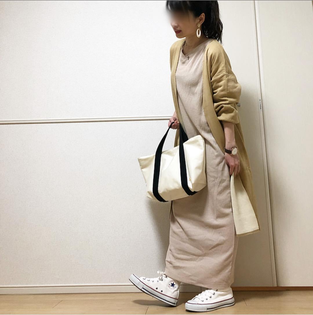 最高気温14度・最低気温4度 takanogunsou0805の服装
