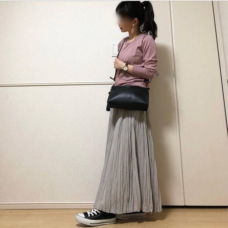 最高気温22度・最低気温13度 takanogunsou0805の服装