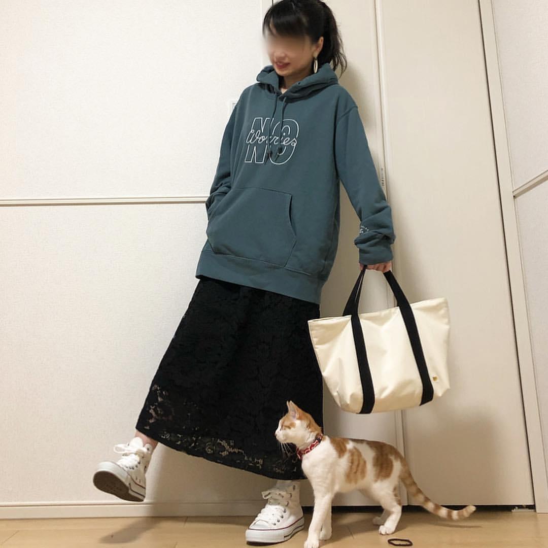最高気温23度・最低気温8度 takanogunsou0805の服装
