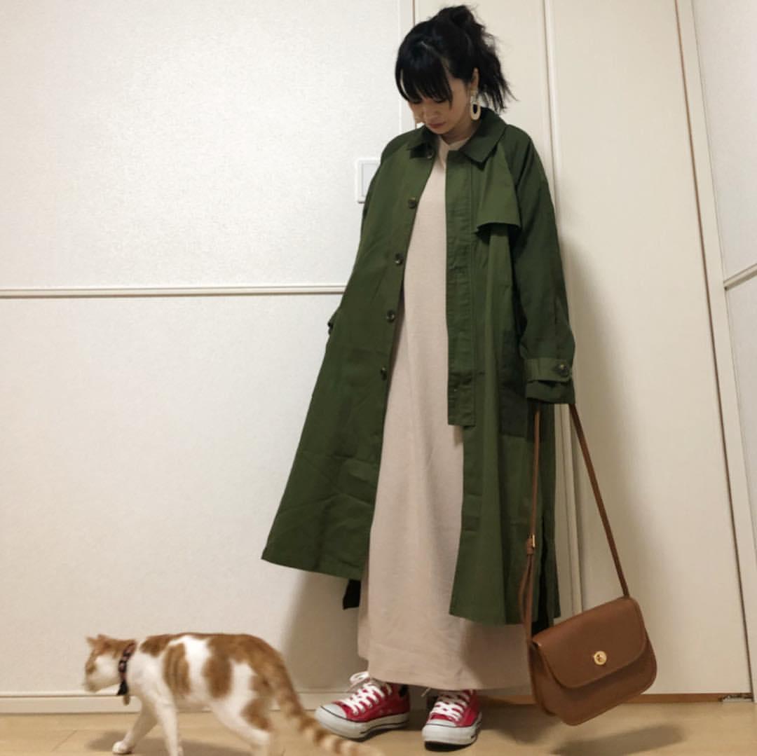 最高気温15度・最低気温1度 takanogunsou0805の服装
