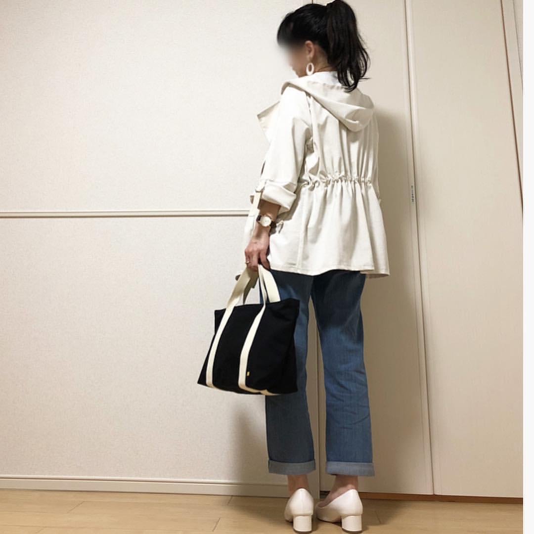 最高気温19度・最低気温7度 takanogunsou0805の服装