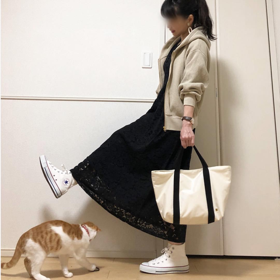 最高気温11度・最低気温7度 takanogunsou0805の服装