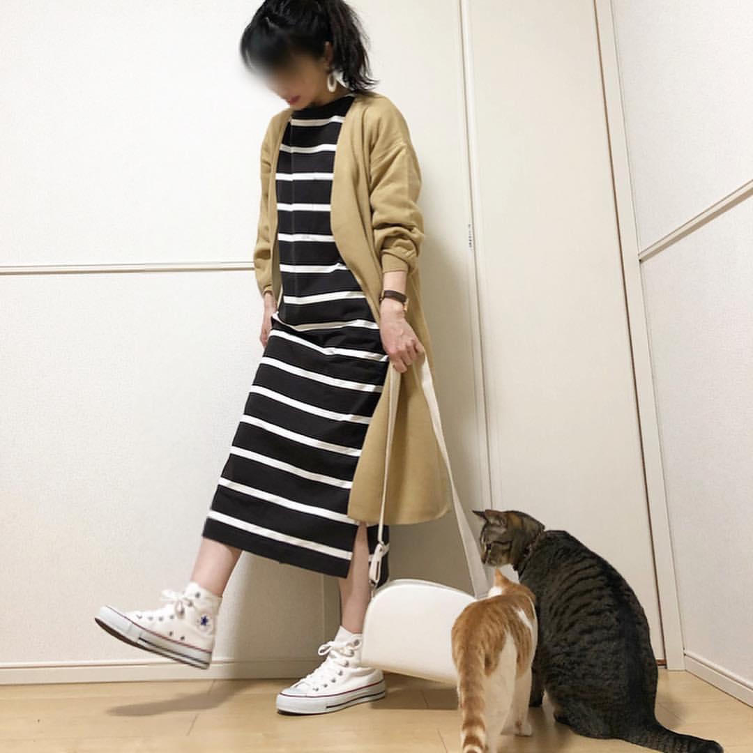 最高気温14度・最低気温2度 takanogunsou0805の服装