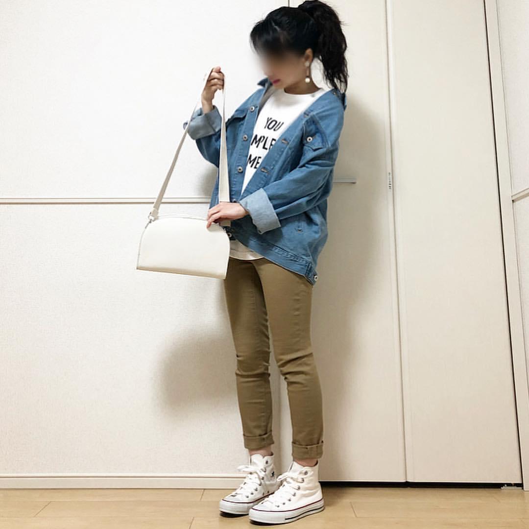 最高気温18度・最低気温5度 takanogunsou0805の服装