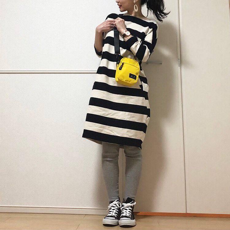 最高気温21度・最低気温10度 takanogunsou0805の服装