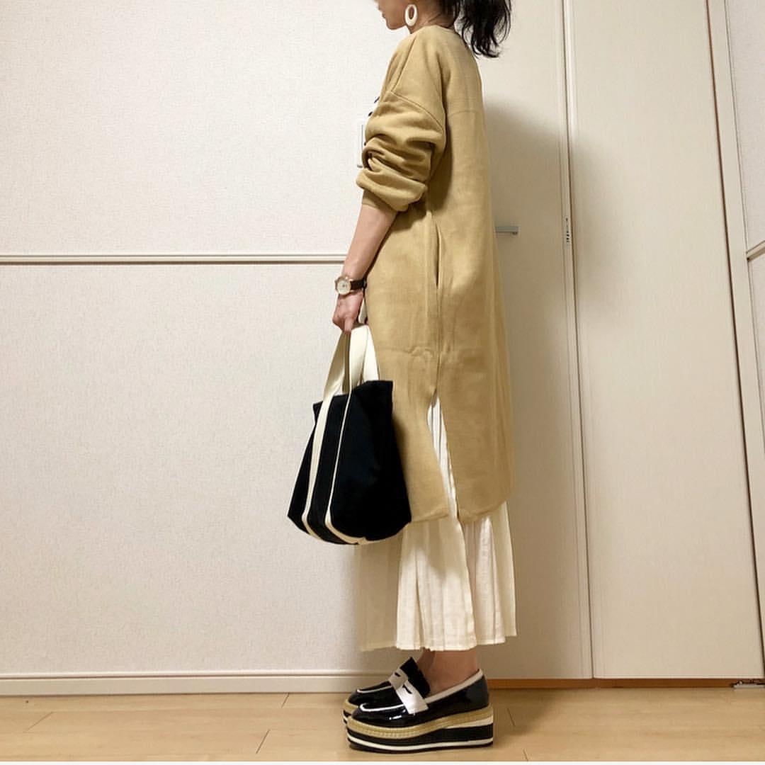 最高気温18度・最低気温8度 takanogunsou0805の服装