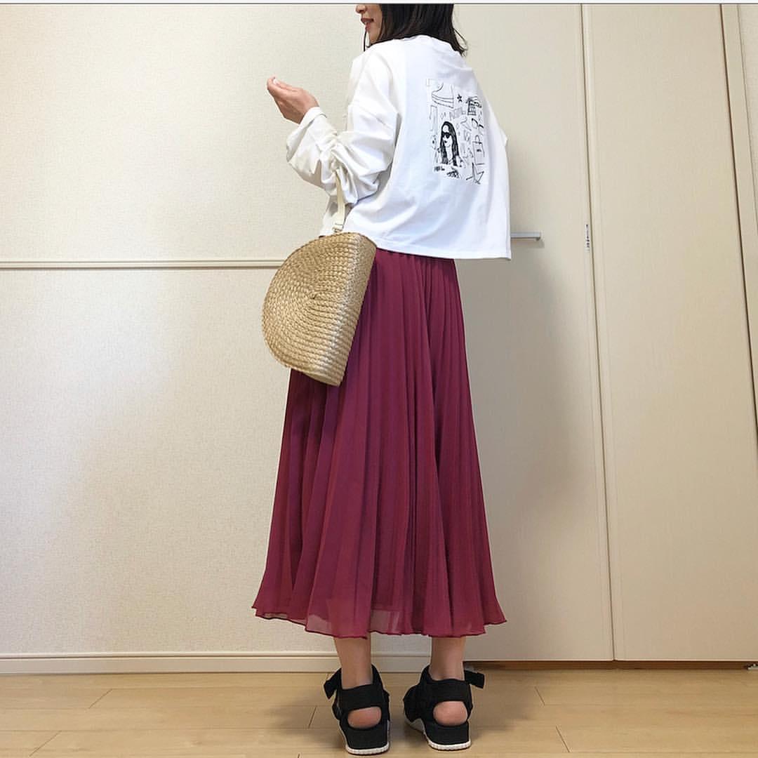 最高気温23度・最低気温15度 takanogunsou0805の服装