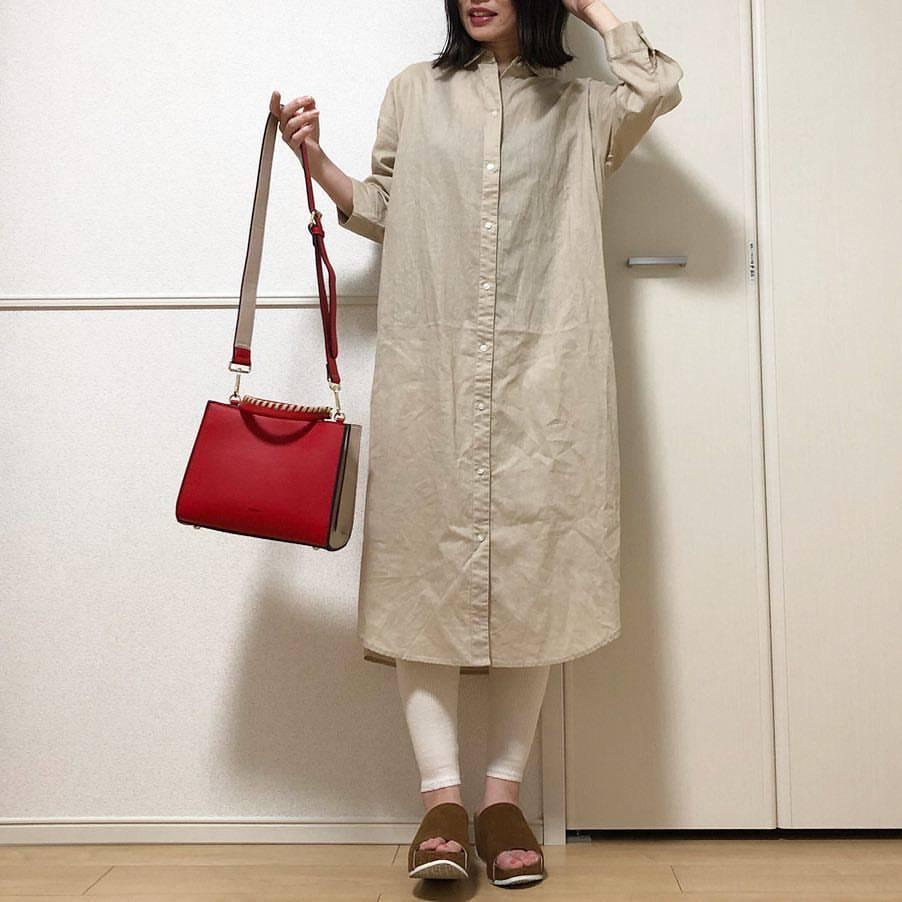 最高気温20度・最低気温17度 takanogunsou0805の服装