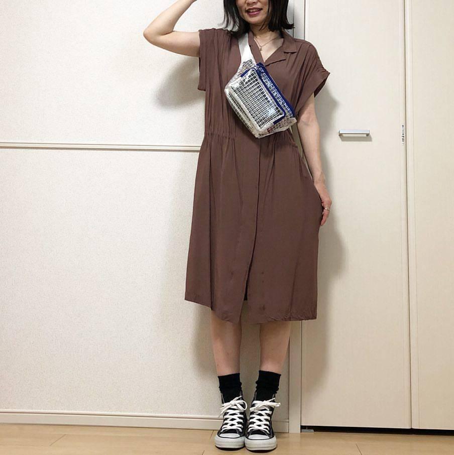 最高気温17度・最低気温12度 takanogunsou0805の服装