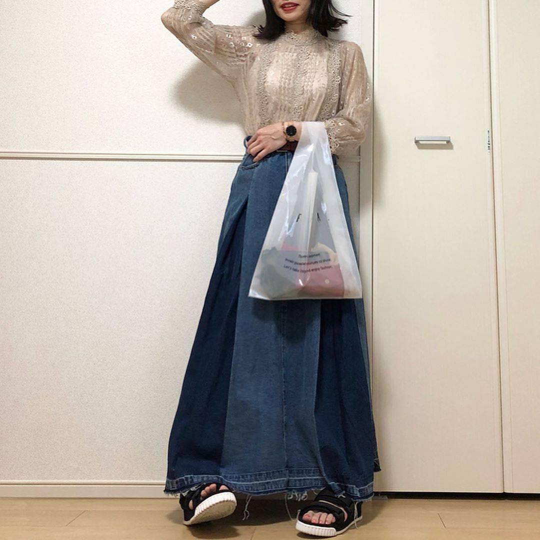 最高気温22度・最低気温7度 takanogunsou0805の服装