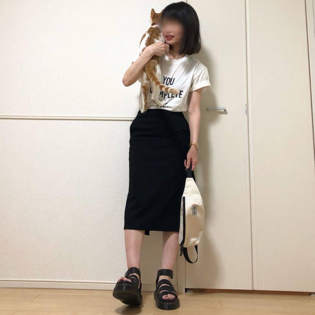 最高気温22度・最低気温14度 takanogunsou0805の服装