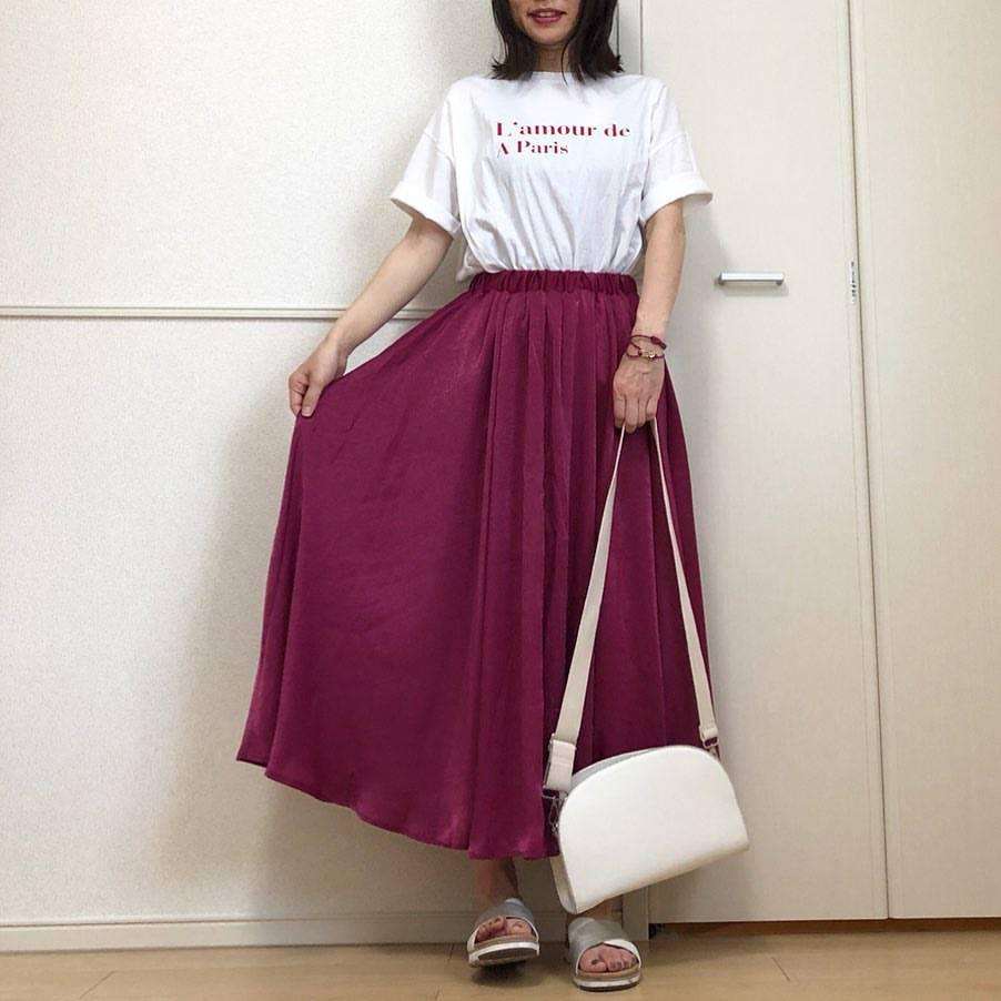 最高気温21度・最低気温16度 takanogunsou0805の服装