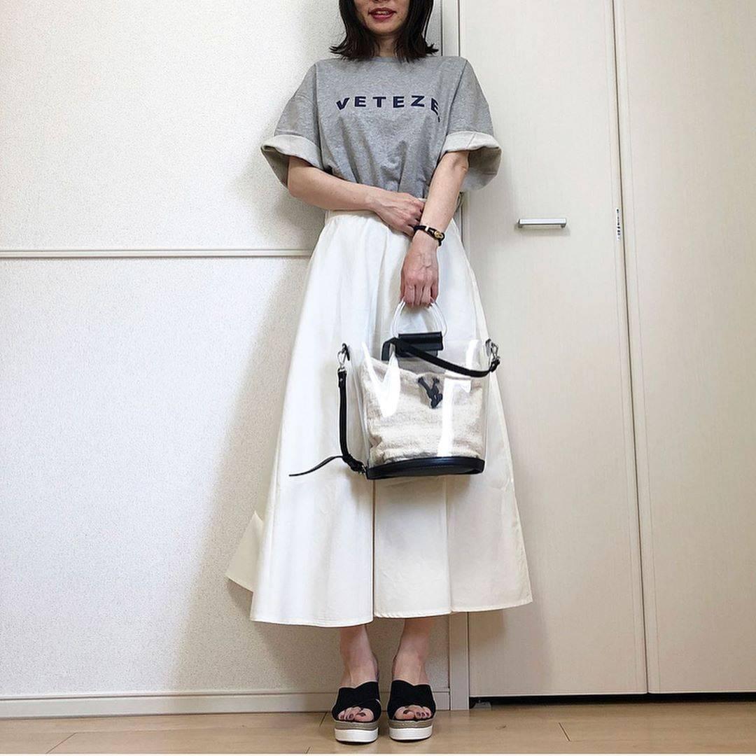 最高気温27度・最低気温15度 takanogunsou0805の服装