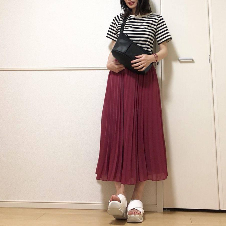 最高気温23度・最低気温19度 takanogunsou0805の服装