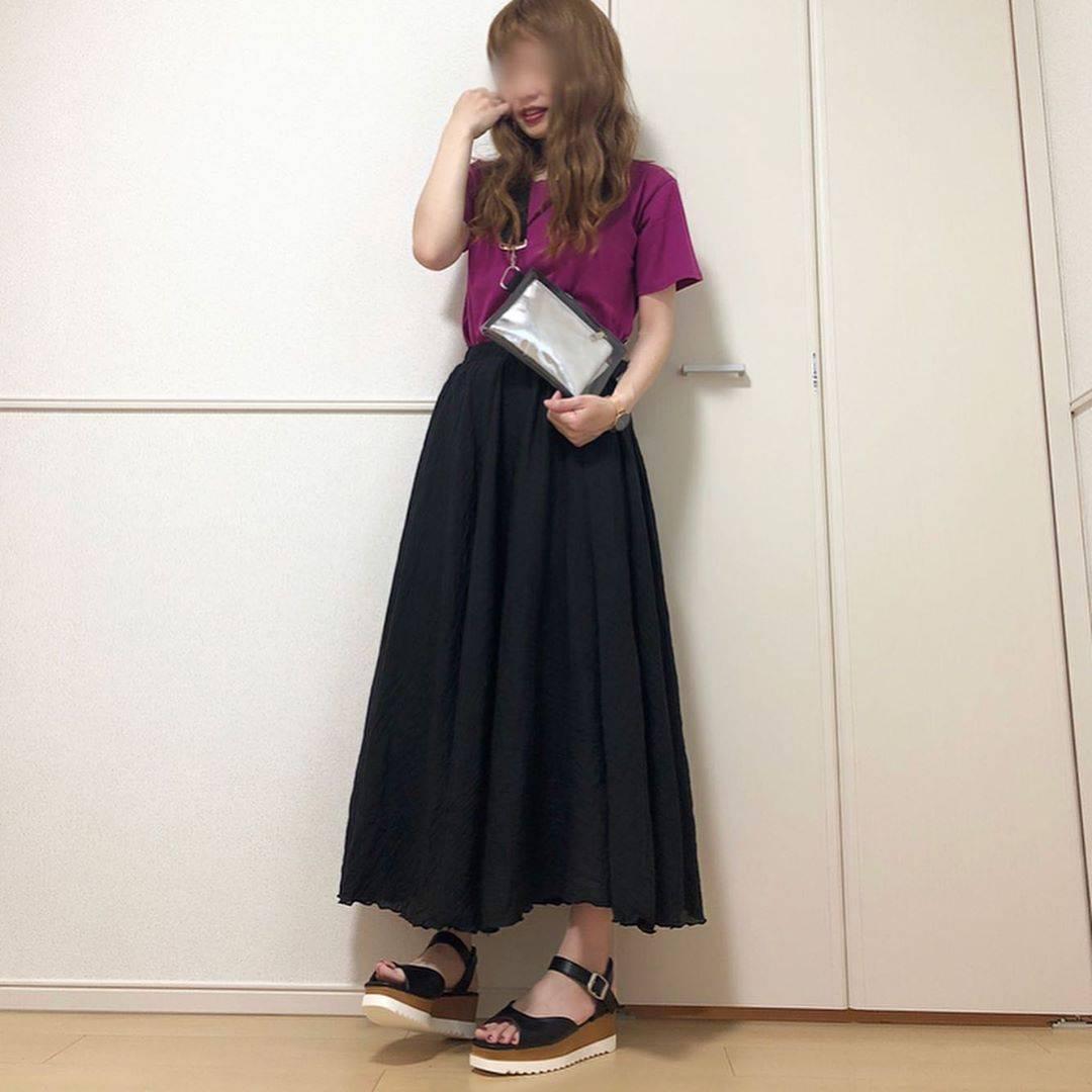 最高気温26度・最低気温21度 takanogunsou0805の服装