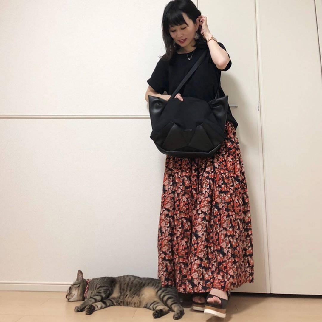 最高気温21度・最低気温17度 takanogunsou0805の服装