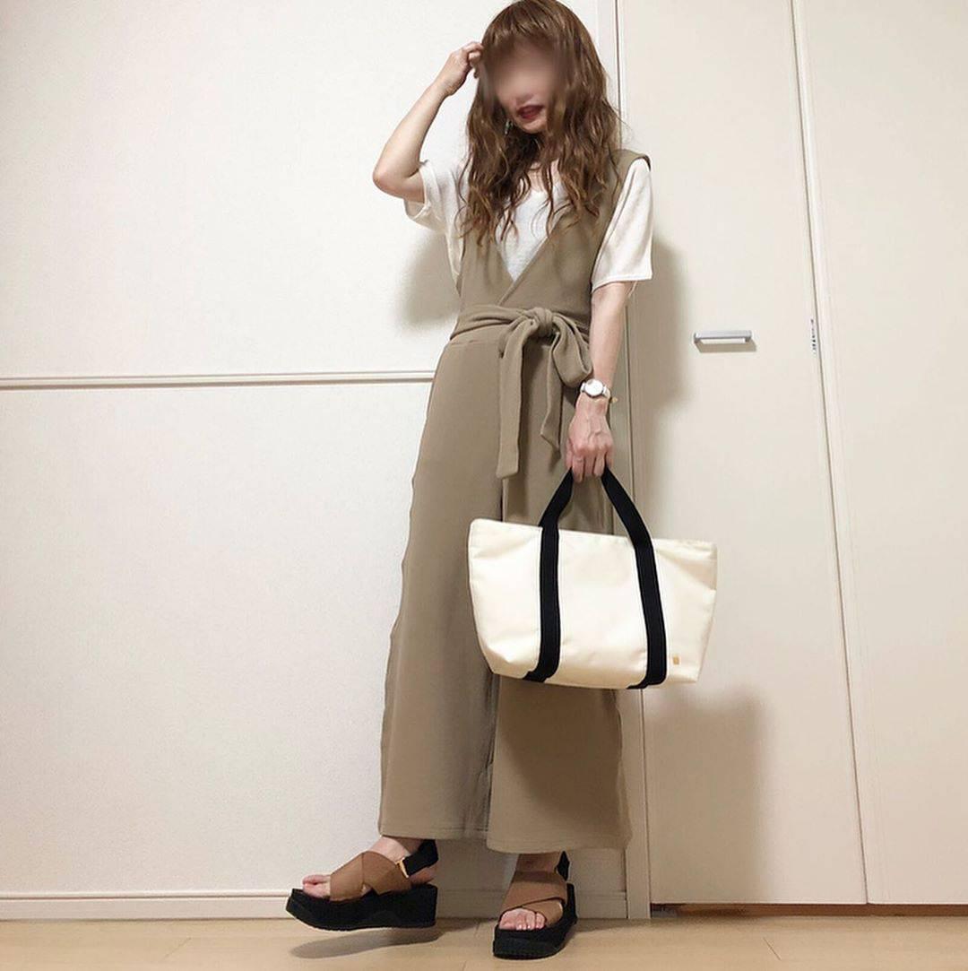 最高気温24度・最低気温18度 takanogunsou0805の服装