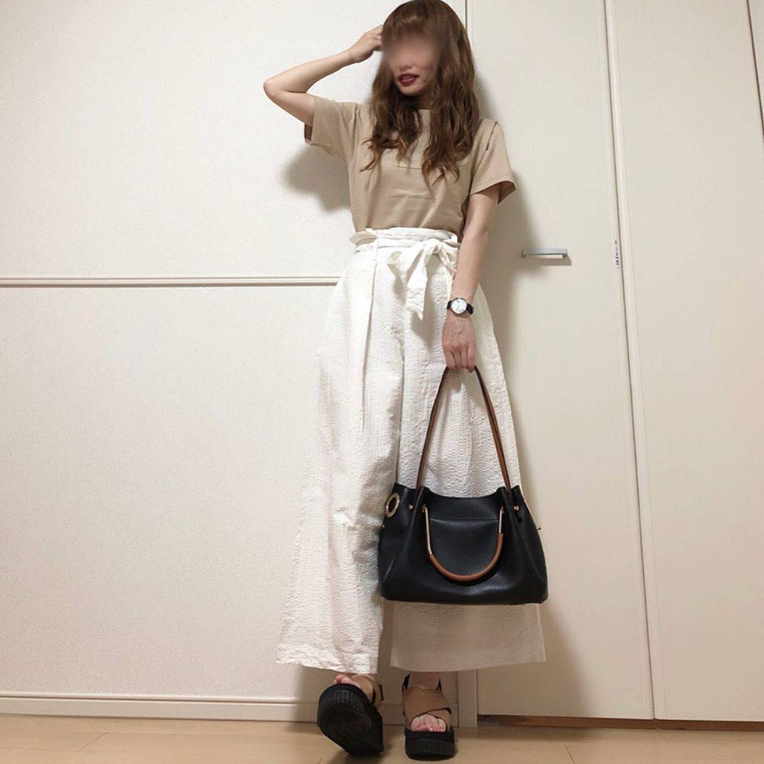 最高気温29度・最低気温22度 takanogunsou0805の服装