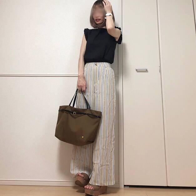最高気温33度・最低気温25度 takanogunsou0805の服装
