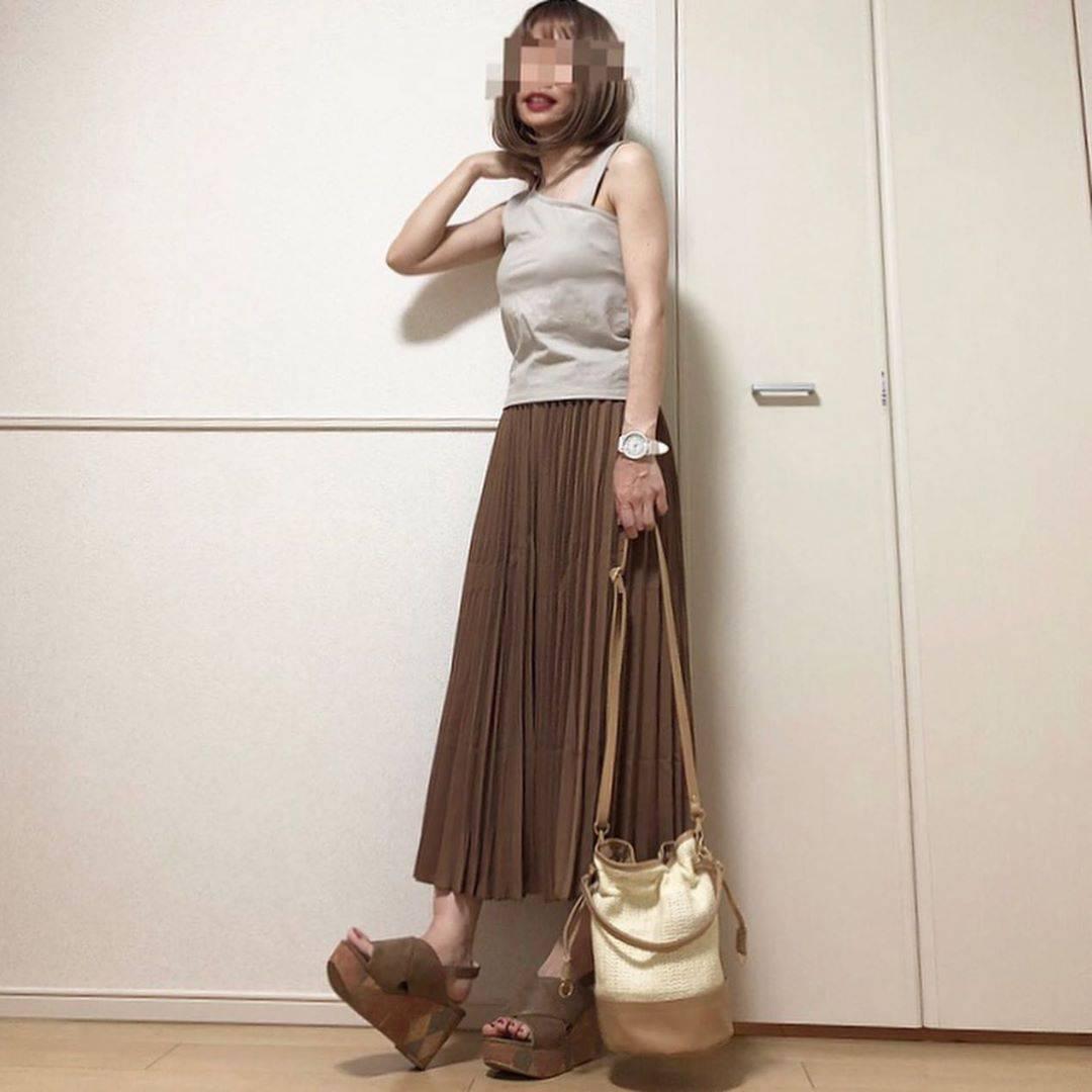 最高気温34度・最低気温25度 takanogunsou0805の服装