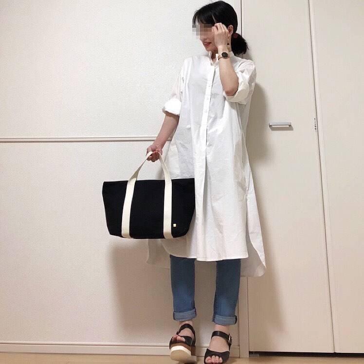 最高気温29度・最低気温23度 takanogunsou0805の服装