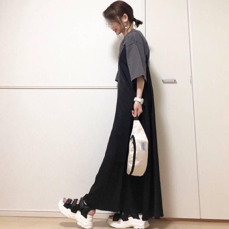 最高気温28度・最低気温23度 takanogunsou0805の服装