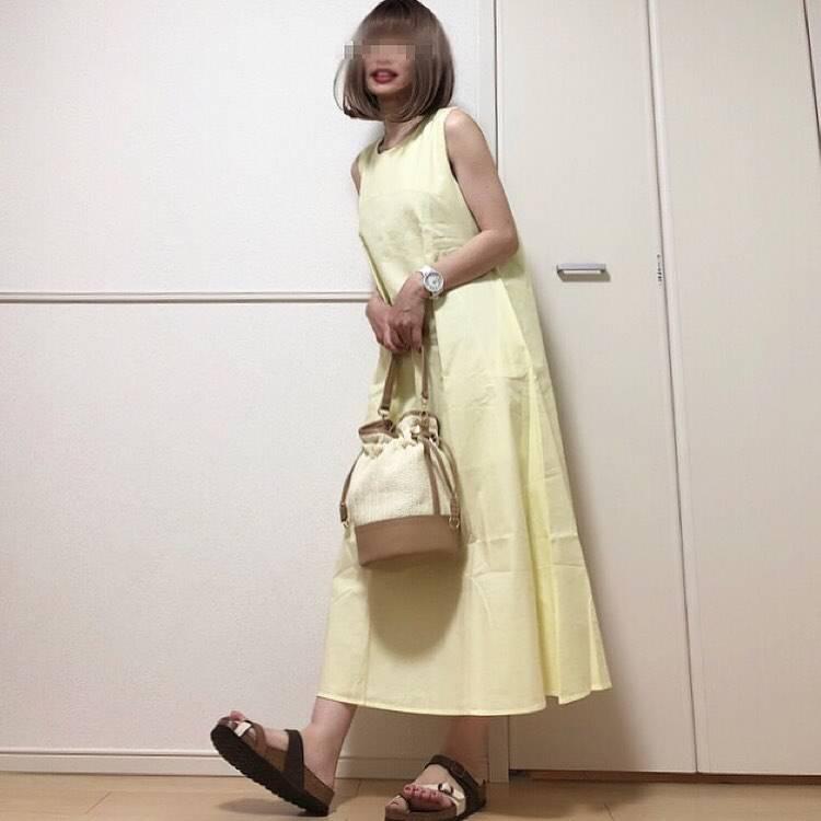 最高気温34度・最低気温24度 takanogunsou0805の服装