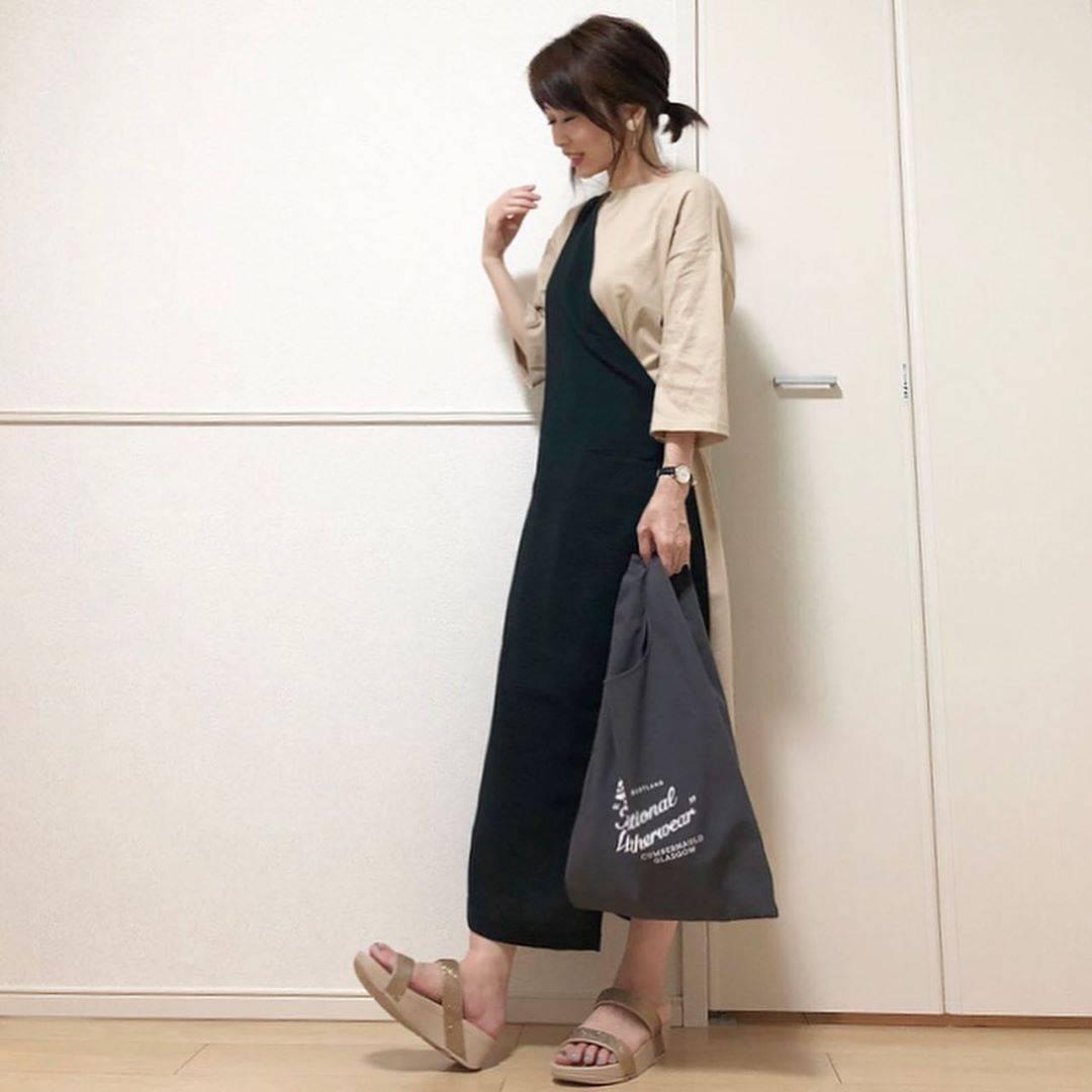 最高気温23度・最低気温20度 takanogunsou0805の服装