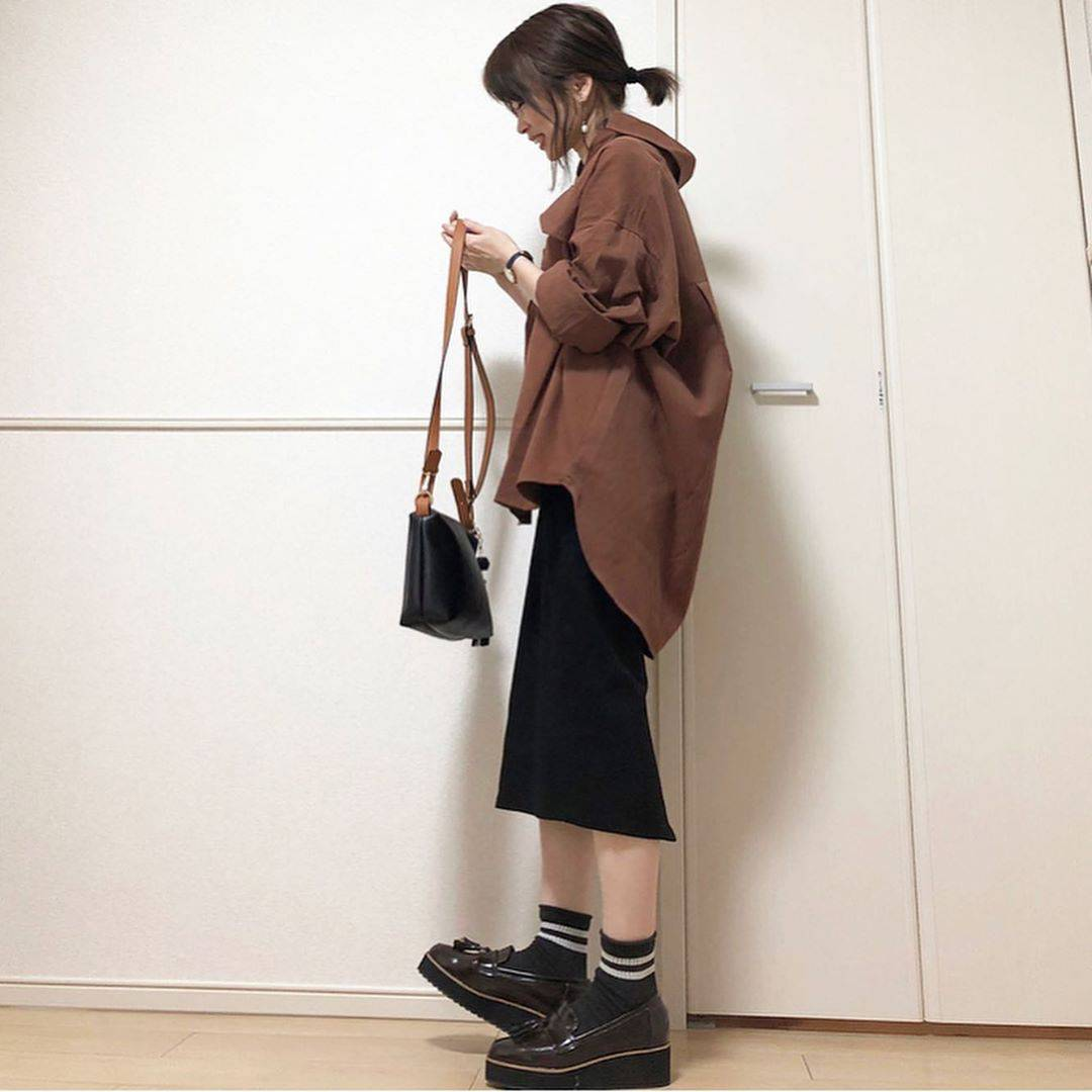最高気温25度・最低気温21度 takanogunsou0805の服装