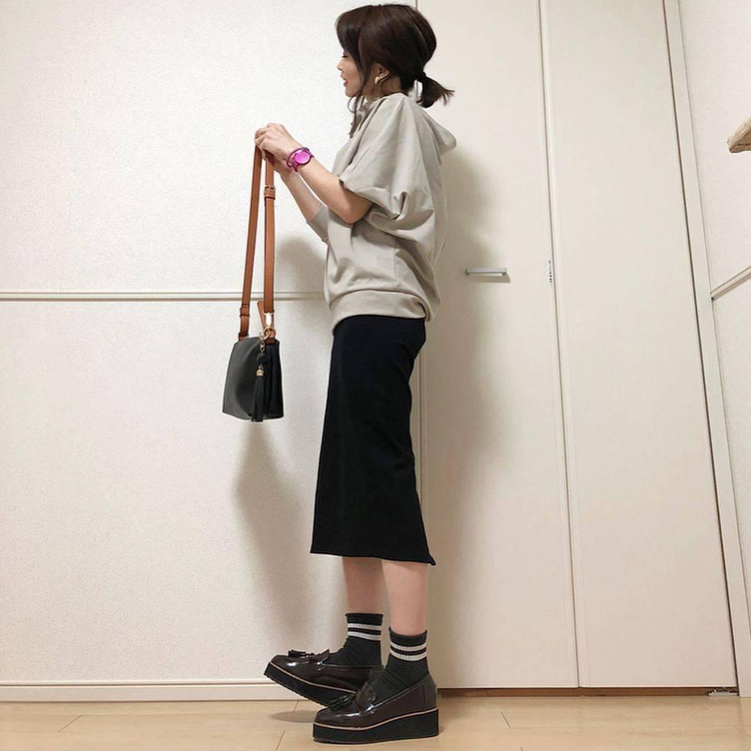 最高気温24度・最低気温19度 takanogunsou0805の服装