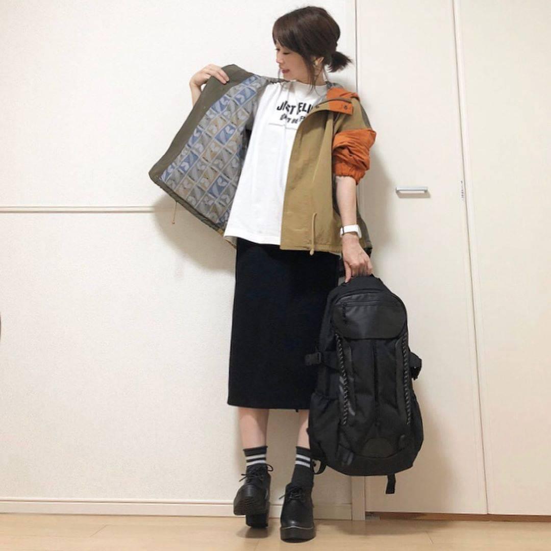 最高気温28度・最低気温18度 takanogunsou0805の服装