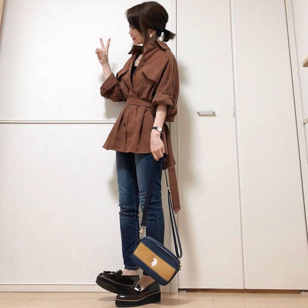 最高気温29度・最低気温21度 takanogunsou0805の服装