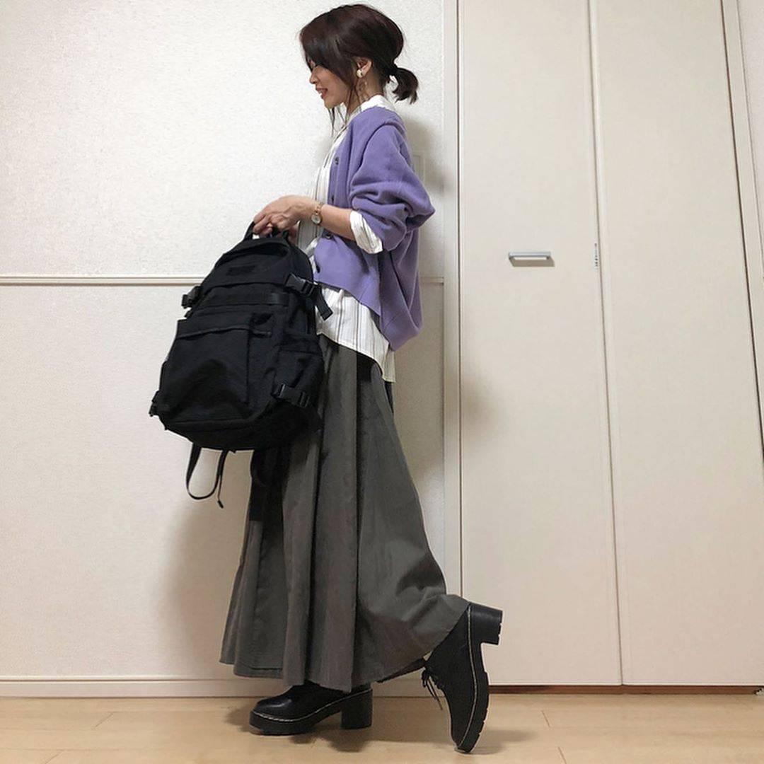最高気温18度・最低気温14度 takanogunsou0805の服装