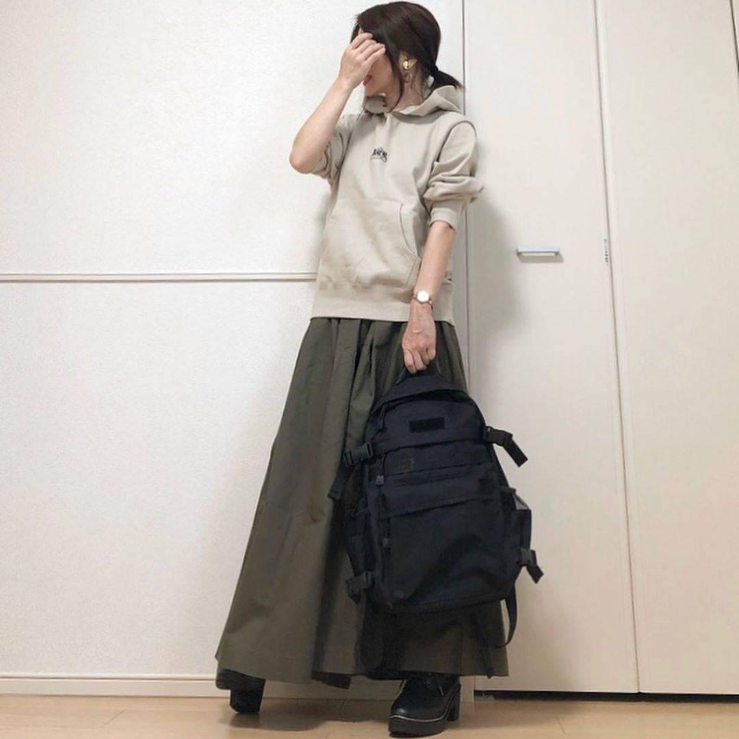 最高気温19度・最低気温14度 takanogunsou0805の服装
